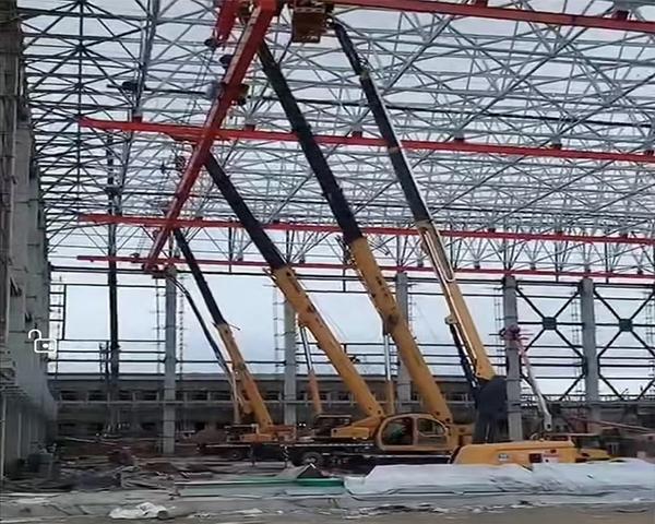 内蒙钢结构工程